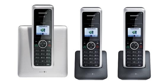 t sinus 302i trio isdn schnurlos telefon mit 3 handteilen schnurloses handteile ebay. Black Bedroom Furniture Sets. Home Design Ideas