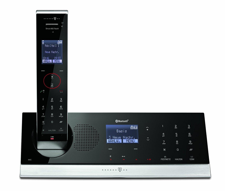 t sinus a602 touch schnurlos design telefon mit. Black Bedroom Furniture Sets. Home Design Ideas