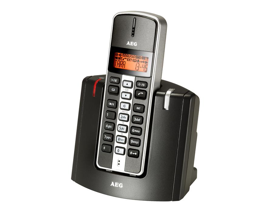 aeg tara 200 schnurlos analog telefon klein handlich und preiswert. Black Bedroom Furniture Sets. Home Design Ideas
