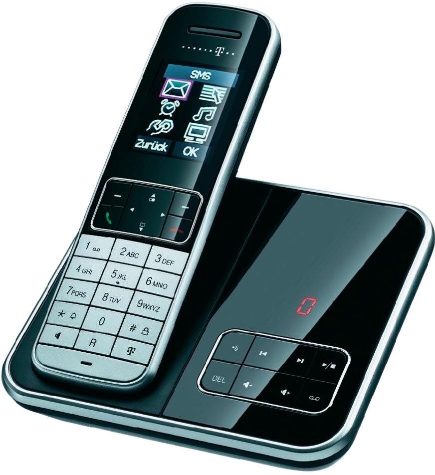 t home sinus a605 design schnurlos telefon mit anrufbeantworter schnurloses stuttgart. Black Bedroom Furniture Sets. Home Design Ideas