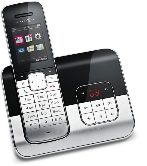 t sinus a806 schnurloses design telefon mit anrufbeantworter schnurlos t com stuttgart. Black Bedroom Furniture Sets. Home Design Ideas